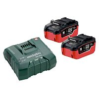 Базовый комплект METABO Basic-Set 2xLiHD 7.0 Aч + ASC Ultra (685112000)
