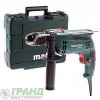Ударная дрель METABO SBE 650 Impuls (600672500) в кейсе